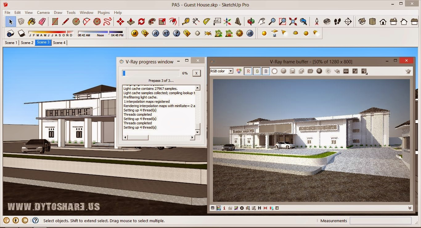 Download vray 2 0 for sketchup 2013 full crack dry erase for Sketchup 2013