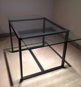 West Elm Glass Top Dining Table Dining Room Ideas - West elm glass top dining table