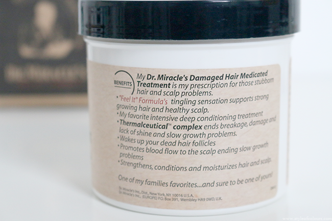Dr. Miracles Damaged Hair Medicated Treatment Review