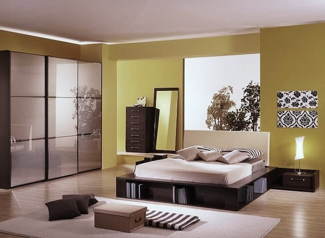 Bedroom 7 zen ideas to inspire iiinterior decorating home for Simple bedroom color ideas