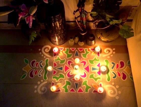Mungita Muggulu Diwali Rangoli Decoration Ideas