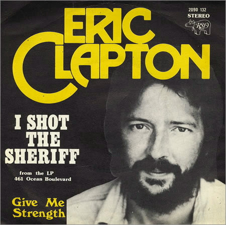 Music Television presents Eric Clapton covering Bob Marley's song I Shot The Sheriff