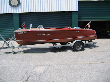 After - 18&#39; Chris Craft Riviera, complete restoration