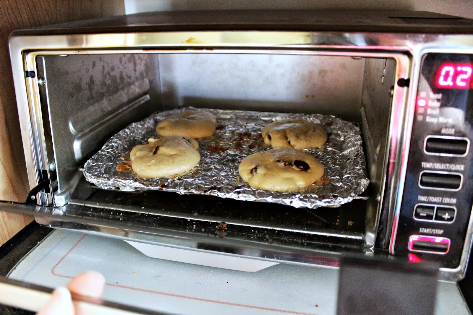 Countertop Convection Oven For Cookies : Oven Toaster: How To Bake A Cookies In Oven Toaster