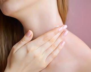 Exfoliante para tu cuello