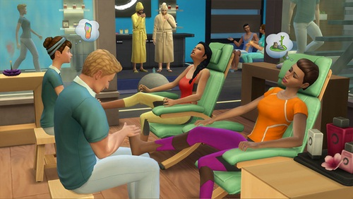 The Sims 4: Dia de Spa - Spa Day Addon - PC (Download Completo em Torrent)
