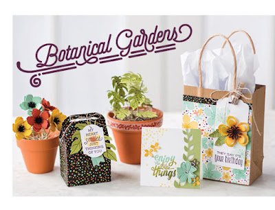 Stampin' Up! Botanical Gardens Suite Projects from 2016 Stampin' Up! Occasions Catalog #stampinup