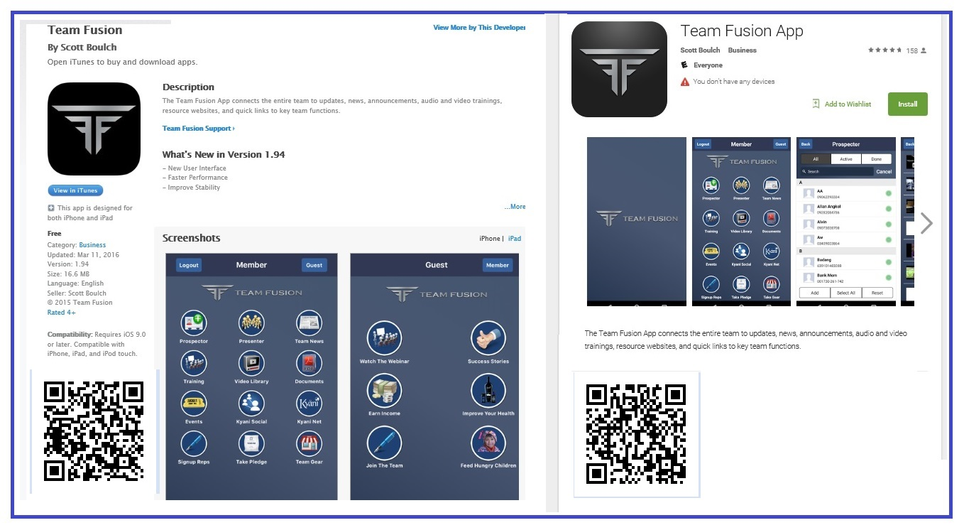 Team Fusion App - Android Apps on Google Play