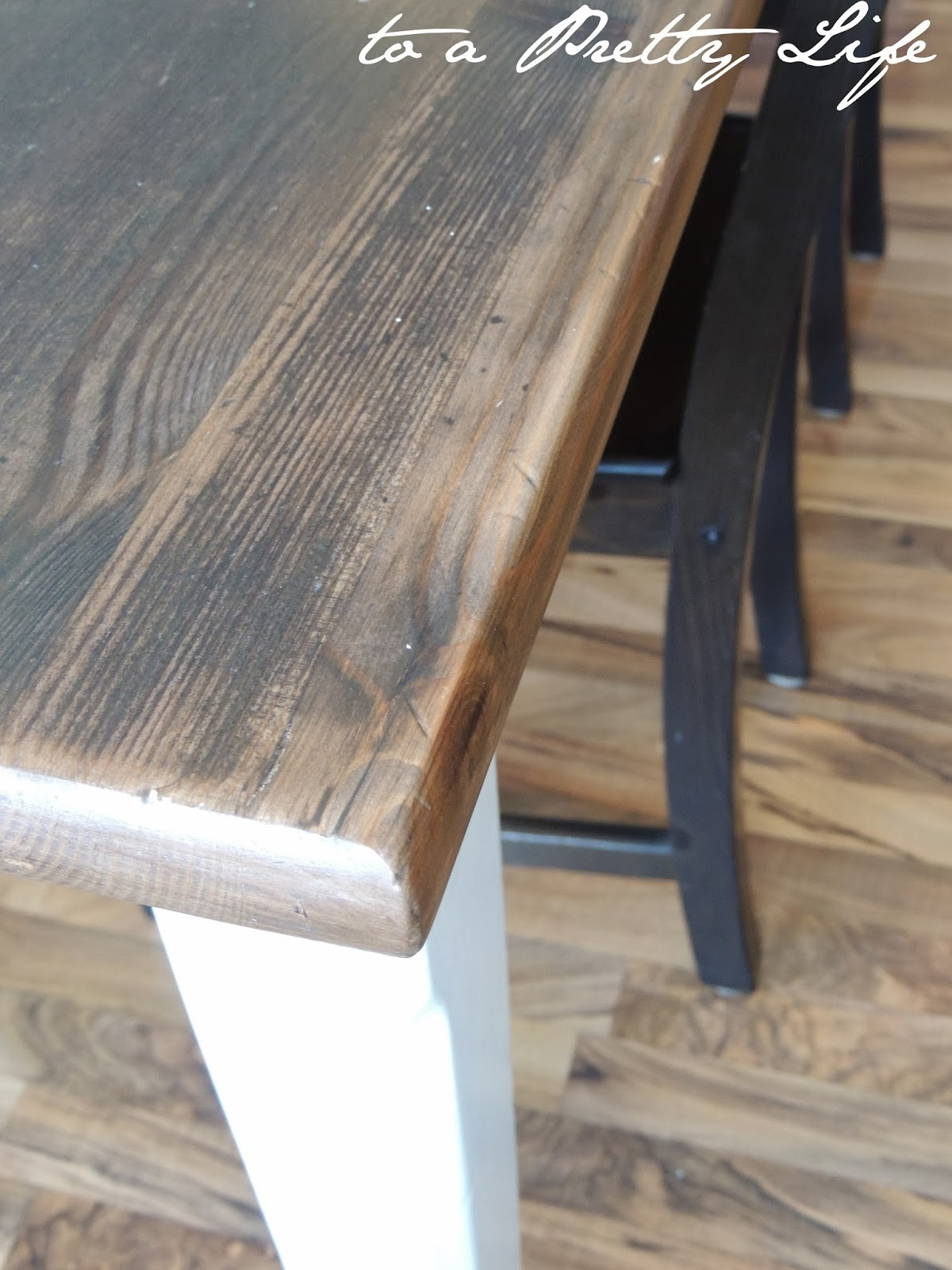 DIY Farmhouse Table: Ikea Hack
