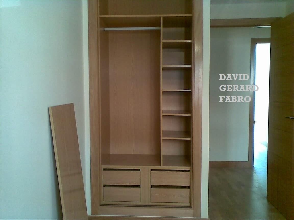 Feira Artesanato Em Ingles ~ Interior de armario con dos cajoneras TODO EN