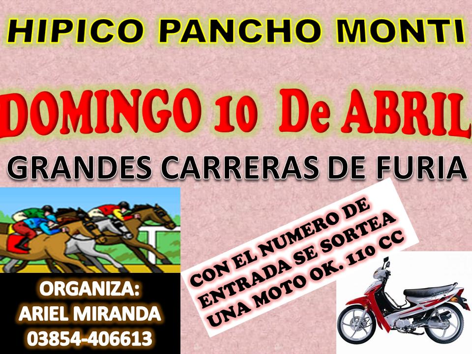PANCHO MONTI 10-4