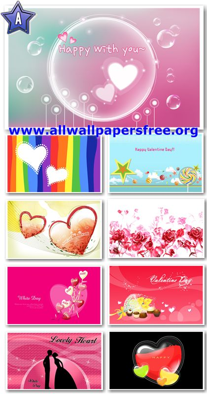 80 Beautiful Valentine's Day HD Widescreen Wallpapers 1920 X 1200
