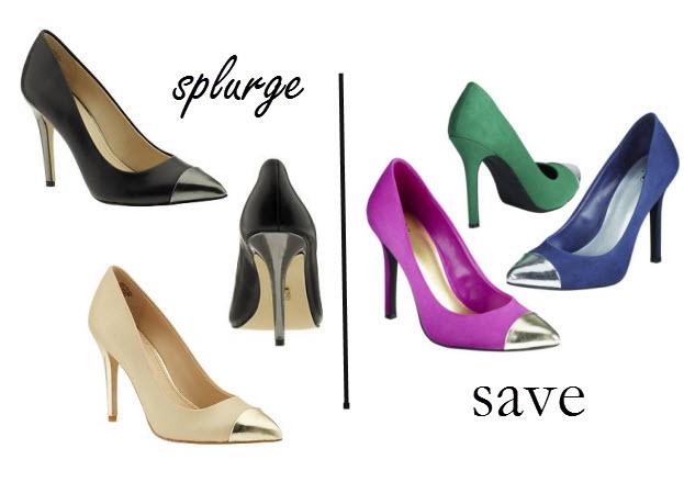 capped toe heels, Target heels, Jean-Michel Cazabat, Anne Klein heels