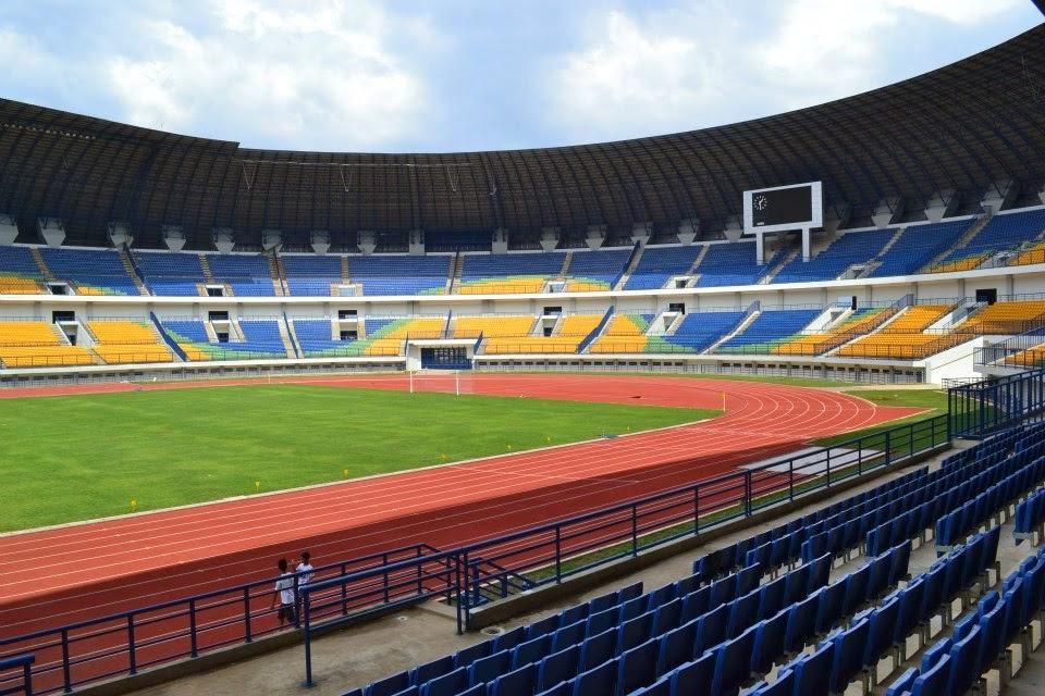 Stadion Gelora Bandung Lautan Api (GBLA) Rancanumpang Gedebage Bandung