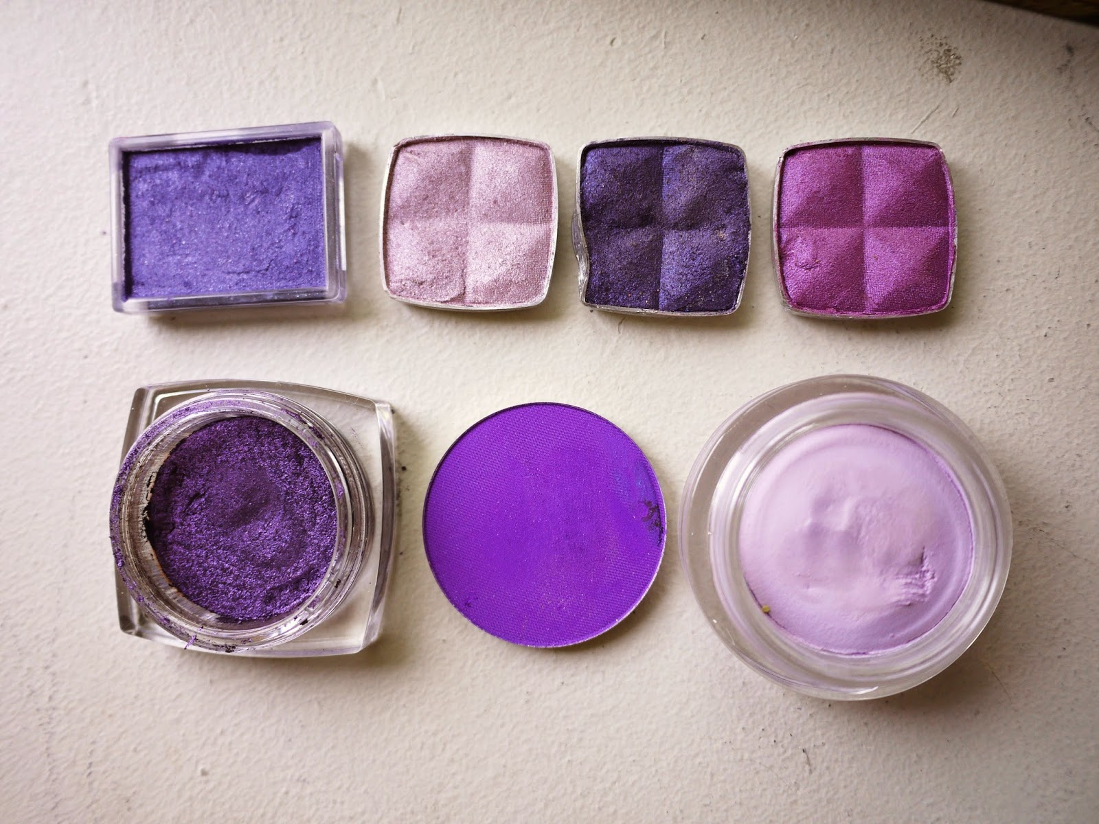 Favourite Purple Eye Shadows