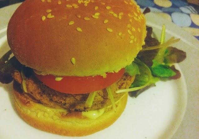 ricetta burger ceci