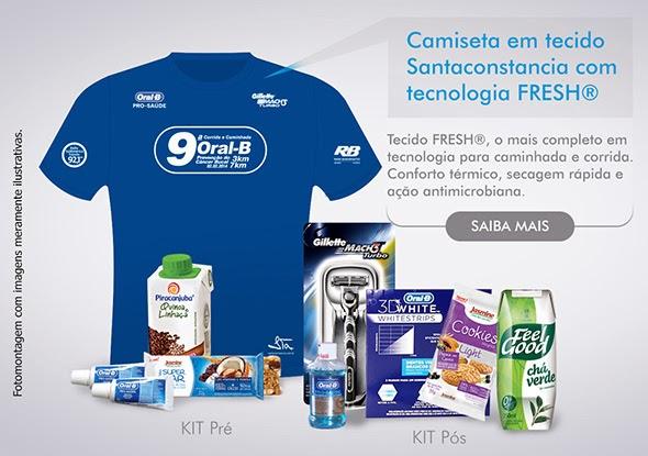 9ª Corrida Oral-B 7k 2014 - Kit do corredor