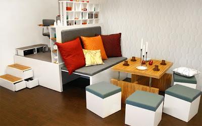 X casas decoracion x maximizar los muebles en - Muebles para apartamentos pequenos ...