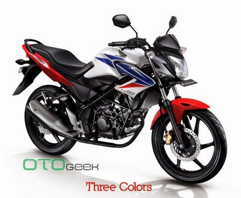 Honda CB150R Streetfire Three Colors
