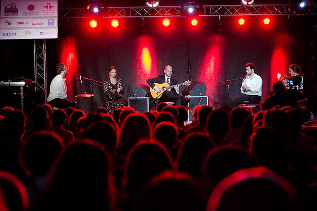 Alberto Lopez y Grupo Flamenco (Španija) na Etnofestu 2013 - subota 22 06 2013 - Velika terasa Palić - foto Nikola Lučić
