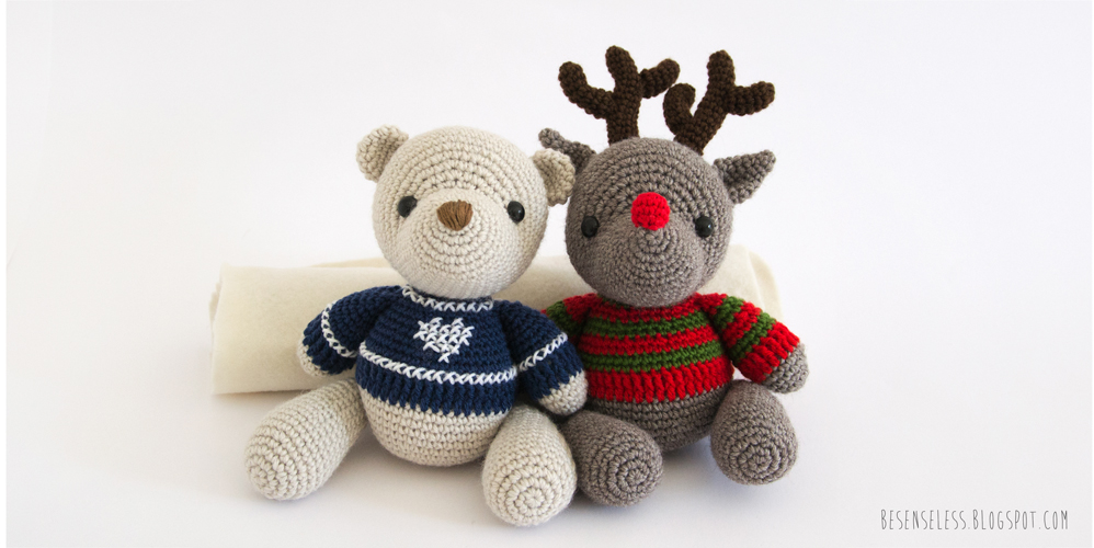 Amigurumi Reindeer Pattern : Airali design. Where is the Wonderland? Crochet, knit and ...