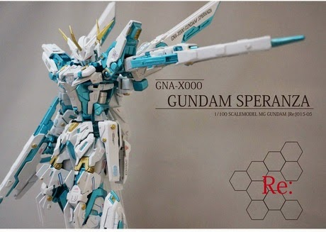 gundam guy speranza model kit