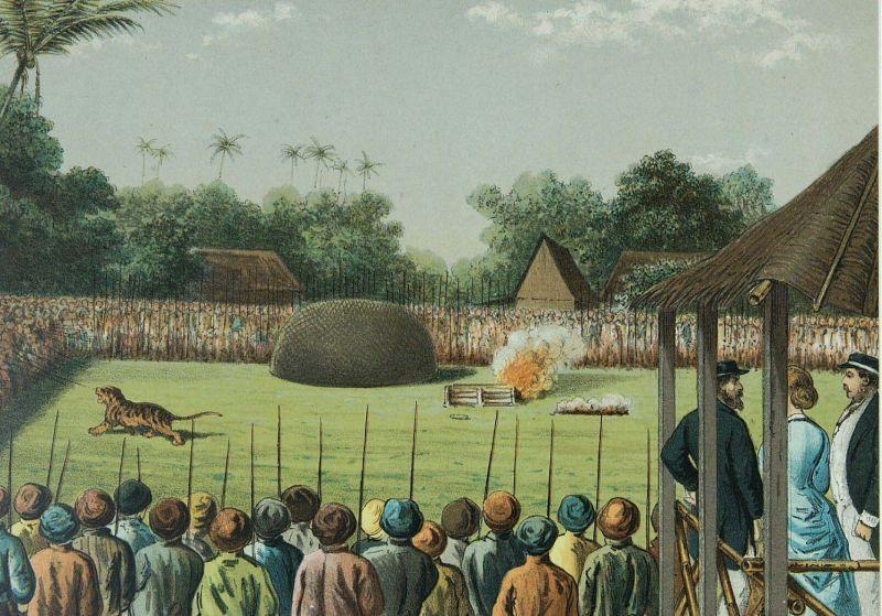rampog macan, lukisan raden saleh, sejarah indonesia