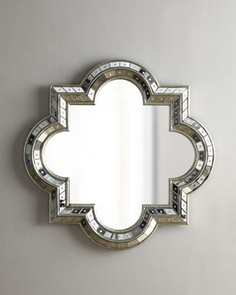 Copy Cat Chic Horchow Quatrefoil Mirror