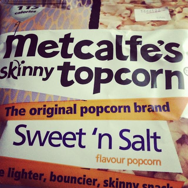 Metcalfes sweet n salt skinny popcorn Primark