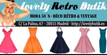 Vestidos estilo años 50 pinup, rockabilly, swing, madmen...