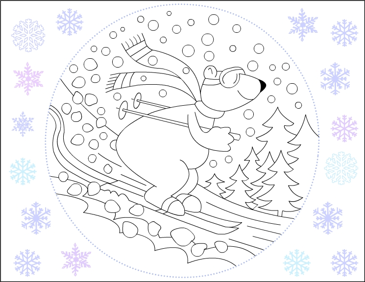 Coloring Pages Of Bears