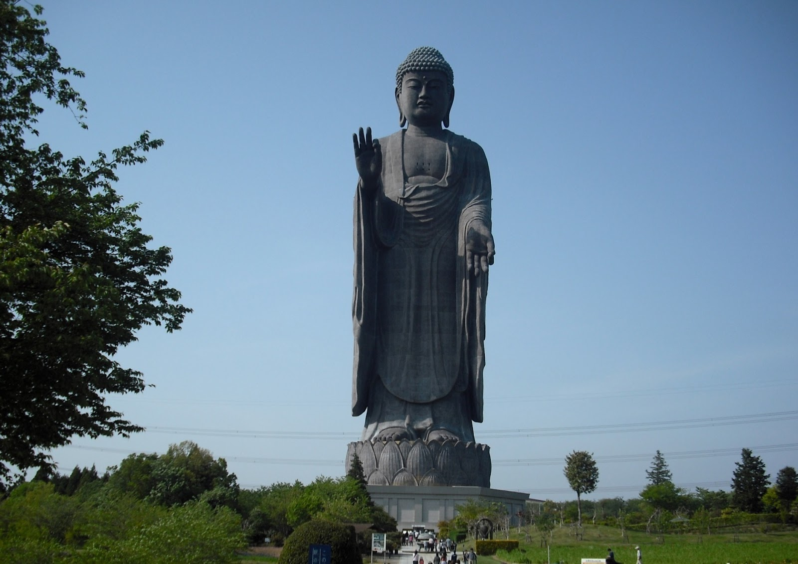 Ushiku Daibutsu Vs Statue Of Liberty Tallest Statues in the...