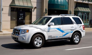 The Ford Escape hybrid