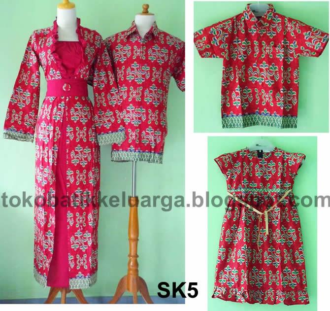 Baju Batik Couple Modern Terbaru 2014 Trend Model Terbaru