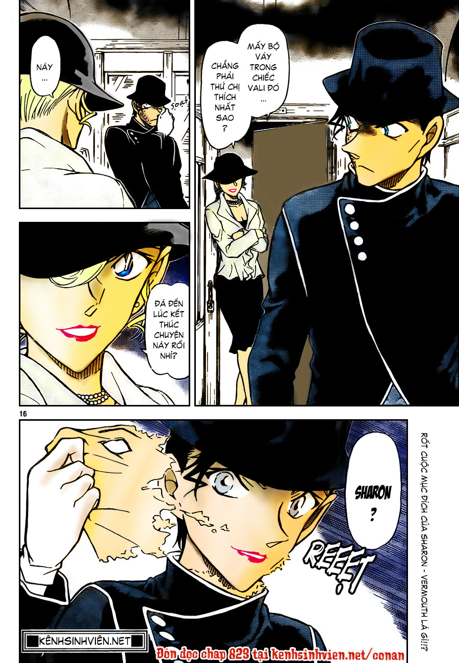 Thám Tử Lừng Danh Conan - Chapter 822 - Pic 18