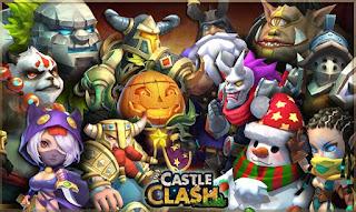 Tips dan Trik Dapat Gems Gratis Konflik Kastil (Castle Clash)