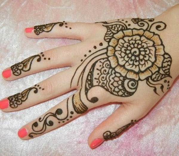 flower mehndi designs indian mehndi designs 2014 for bride girls all the latest hair styles. Black Bedroom Furniture Sets. Home Design Ideas