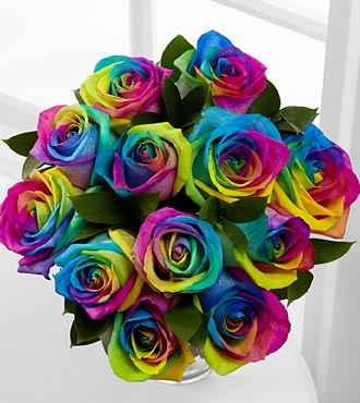Epbot diy inspiration rainbow rose petal jewelry for What are rainbow roses