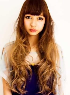 model rambut ombre wanita asia 2016_32654478