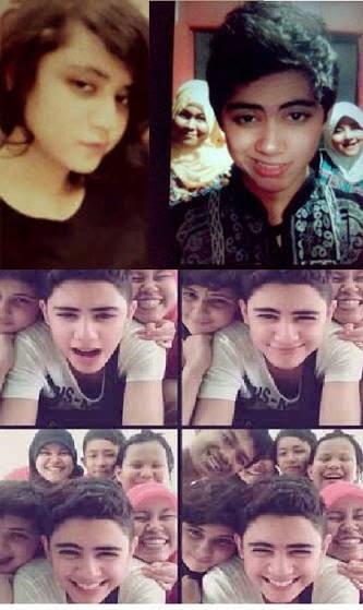 Foto Aliando dan Orangtuanya juga saudaranya