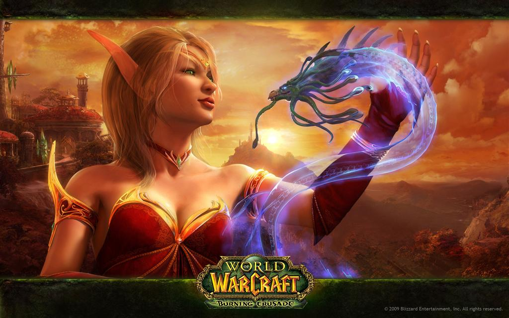 World of Warcraft HD & Widescreen Wallpaper 0.66600118465925