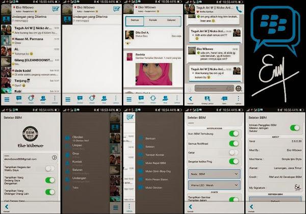 BBM Mod Simple Ipin Style v2.6.0.30