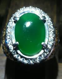 Batu akik hijau garut
