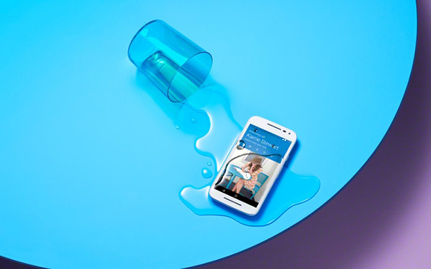Have you seen new waterproof Motorola Moto G Smartphone ?