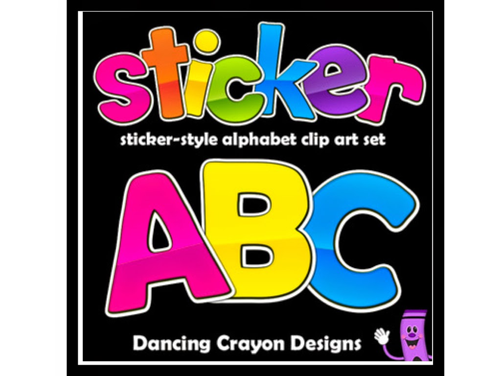 http://www.teacherspayteachers.com/Product/Alphabet-Letters-Clipart-Sticker-Style-Alphabet-1062157