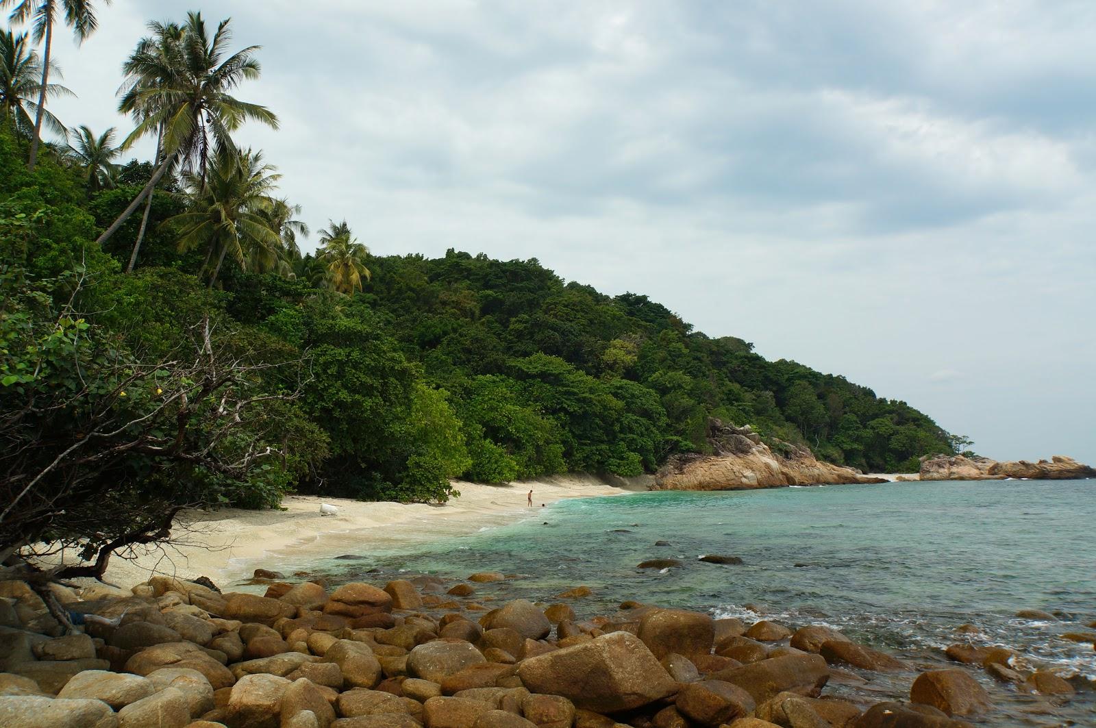 Turtle beach sur Perhentian Kecil