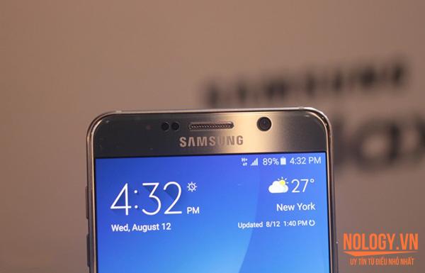 Samsung Galaxy Note 5 xách tay ra mắt