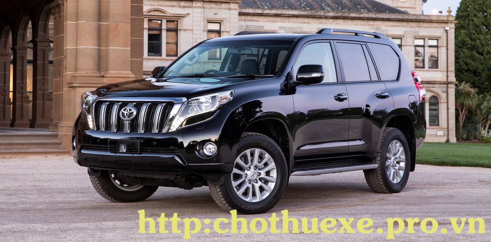 Cho thuê xe cưới Toyota Land Cruiser Prado