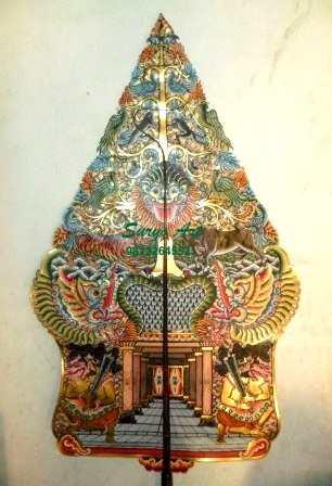 Jual Wayang Kulit Koleksi Unik Gunungan dan Tokoh Wayang ...