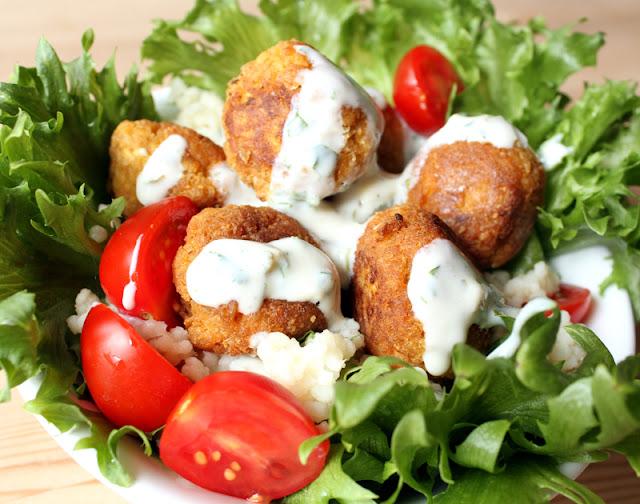 Oppskrift Tofulafel Falafel med Tofu Hjemmelaget Kjøttfrie Kjøttboller Vegetarkjøttboller Veganburger